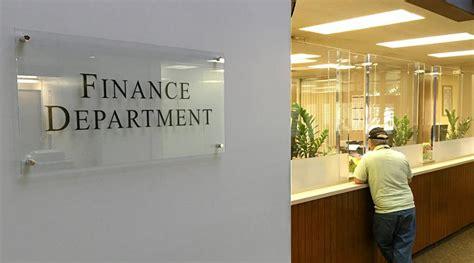 Finance Office by Finance City Of Salinas
