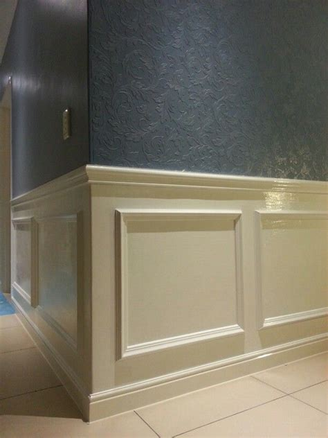 How To Put Up Wainscoting Panels Diy Wall Paneling For The Home