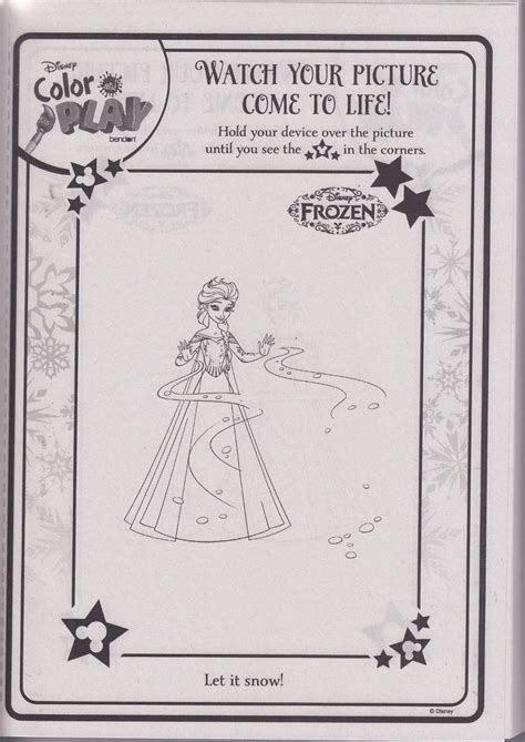 disney color and play books coloring pages