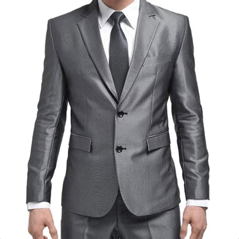 Handmade Mens Suits - formal custom mens suits 2016 new best suit silver