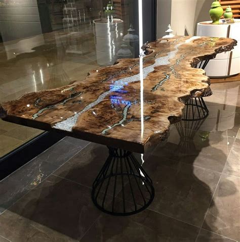 how to epoxy a table epoxy table epoxy furniture epoxy tables