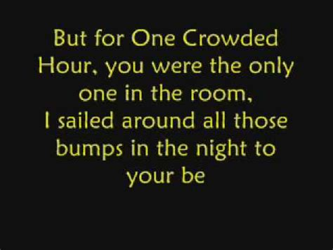 Augie March One Crowded Hour by One Crowded Hour By Augie March With Lyrics
