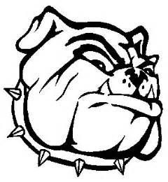 bulldog coloring pages nederland high school bulldog images