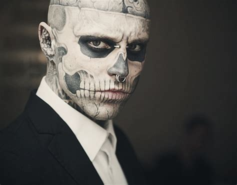 tattoo makeup guy rick genest images rick genest wallpaper and background