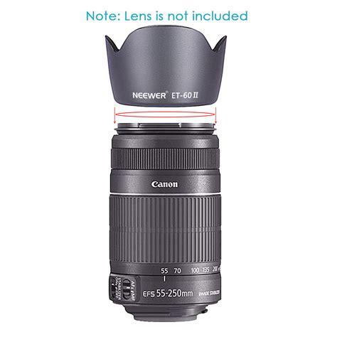 Resmi Lensa Canon 55 250mm neewer lens flower lens for canon ef 75 300mm 55 250mm lenses nd 17 ebay