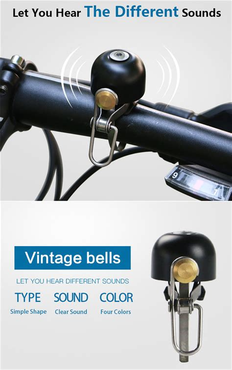 Sound Bell Up wheel up vintage bicycle bell handlebar mini bike horn