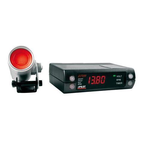 stvr digital auto timer digital voltage and rpm display 12v pilot interior instruments