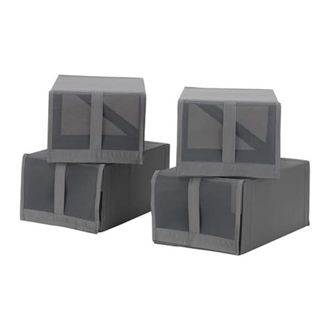 storage boxes for shoes ikea skubb shoe box grey 22x34x16 cm ikea
