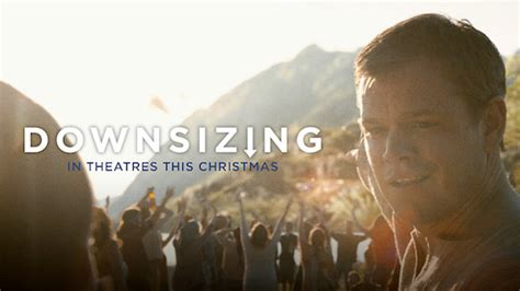 downsizing movie third trailer for alexander payne s human shrinking film