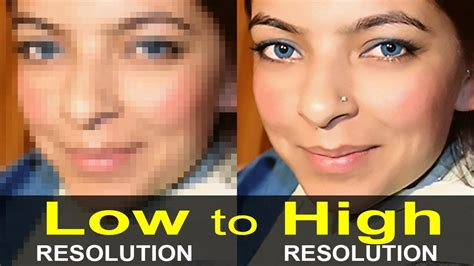 How To Make Low Resolution Pictures High Resolution