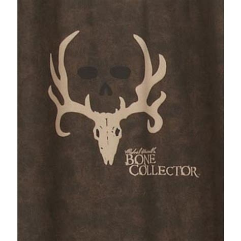 bone collector shower curtain rustic shower curtain