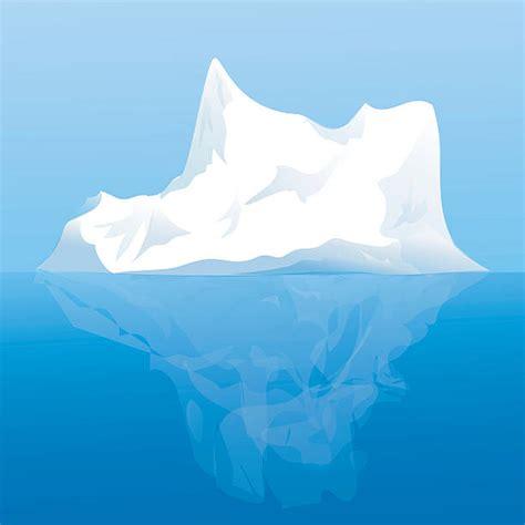 clipart iceberg iceberg clipart vector pencil and in color iceberg