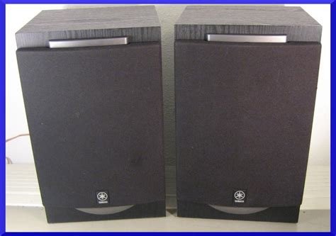 yamaha nx gx500 black 3 way bookshelf speakers monitors