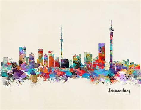 watercolor tattoos johannesburg johannesburg south africa skyline for sale energise