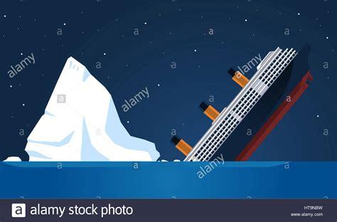 titanic boat iceberg shipwreck titanic iceberg transatlantic sank vector