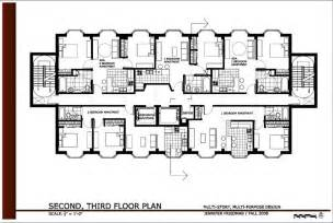 Apartment Floor Plans With Dimensions attractive one level garage apartment plans #4: 2d-floor-plans