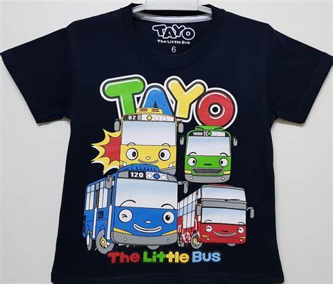 Setelan Anak Size 1 6 Tayo The Traffic Light Biru Muda grosir baju anak grosir baju anak branded grosir baju anak karakter suplier baju anak tangan