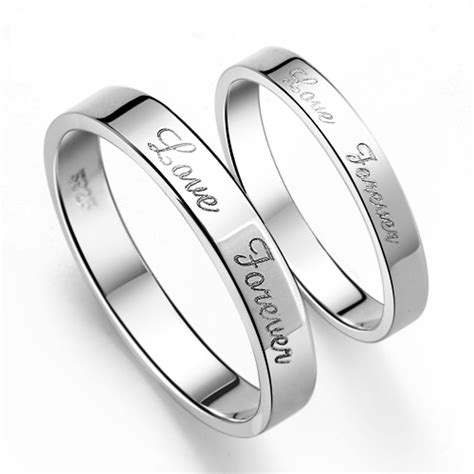 s925 sterling silver mens promise ring