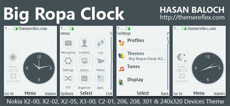 naruto themes for nokia c2 00 suka suka download tema nokia x2 clock