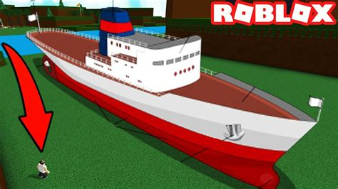 titanic build a boat for treasure building the biggest most gigantic boat ever in roblox