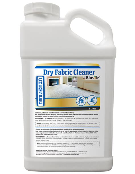 Dry Solvent Upholstery Cleaner Legend Brands Europe Dry Fabric Cleaner