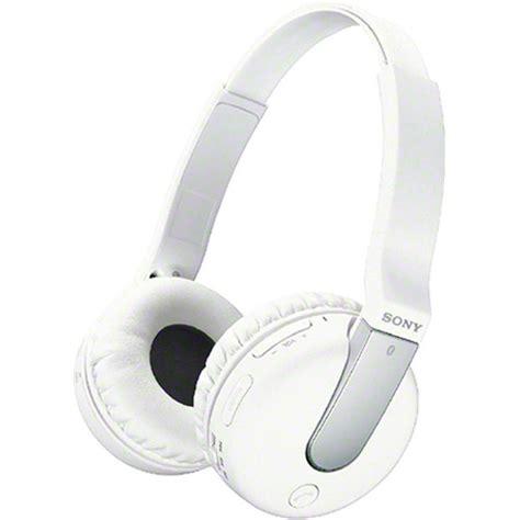 Sony Wireless Headset Dr Btn200m sony dr btn200m bluetooth wireless headphones drbtn200 whi b h