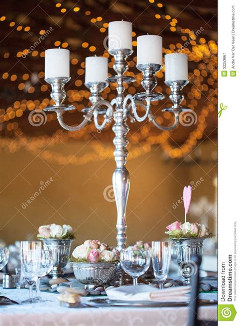 candelabra flowers  table  wedding reception royalty