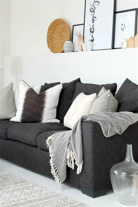 black and grey sofa best 25 black and grey sofa ideas on black