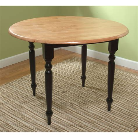 drop leaf dining table black walmart
