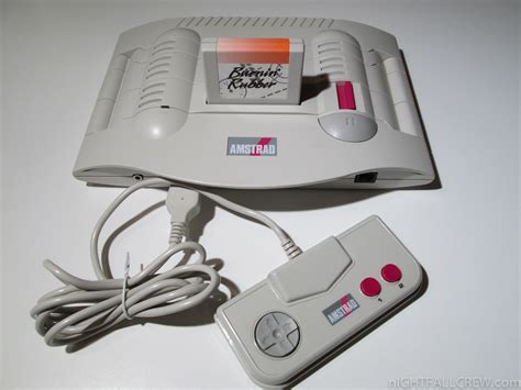 amstrad console amstrad gx4000 nightfall retrocomputermania