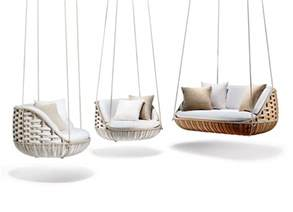 Indoor Swinging Chair Modern Outdoor Furniture And Shadings From Salone Del