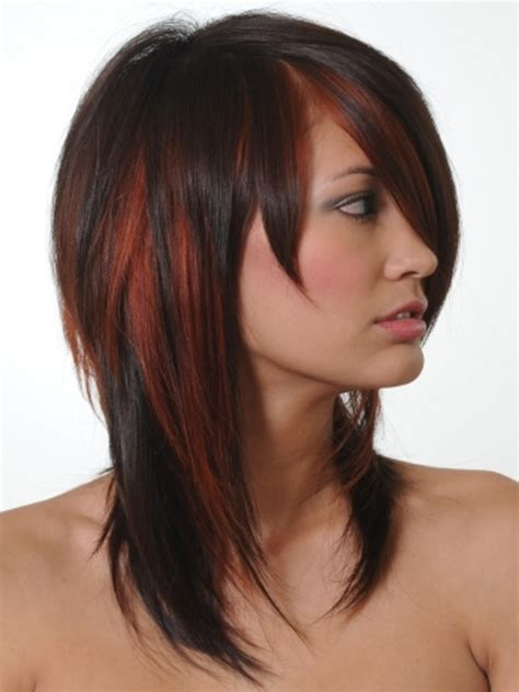 highlight hair color colored hair highlights ideas