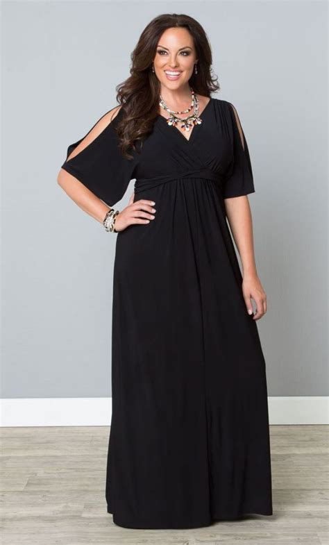 Black Dress Size S coastal cold shoulder dress black s plus size from the plus size fashion community at
