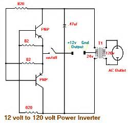 12v dc to 120ac inverter schematic schematic diagram