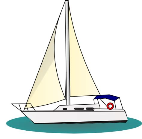 yacht boat ride sailing boat clipart boat ride pencil and in color