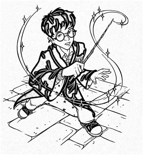 harry potter deluxe coloring book the magic of harry potter deluxe coloring kits for the