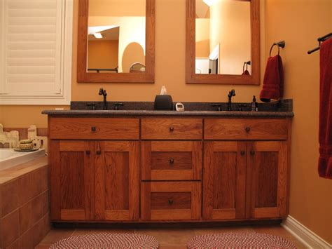 Craftsman Bathroom Vanity Custom Vanities Craftsman Bathroom Indianapolis By Cabinet Company