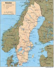 Sweden On World Map by Scandinavian Mountains On World Map Viewing Gallery