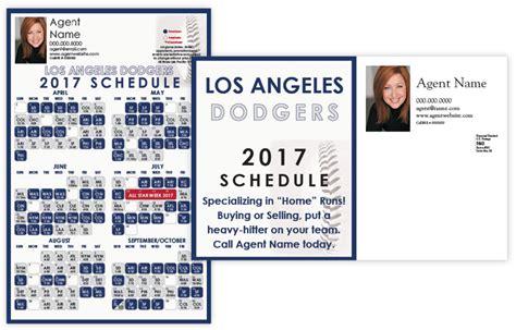 dodgers home schedule dodgers schedule images