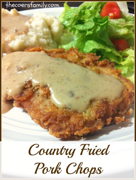 fried chops country fried pork chops