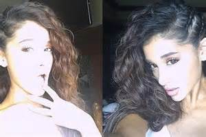 is grande s hair real curly ariana grande singer revealed her real hair beauty and health