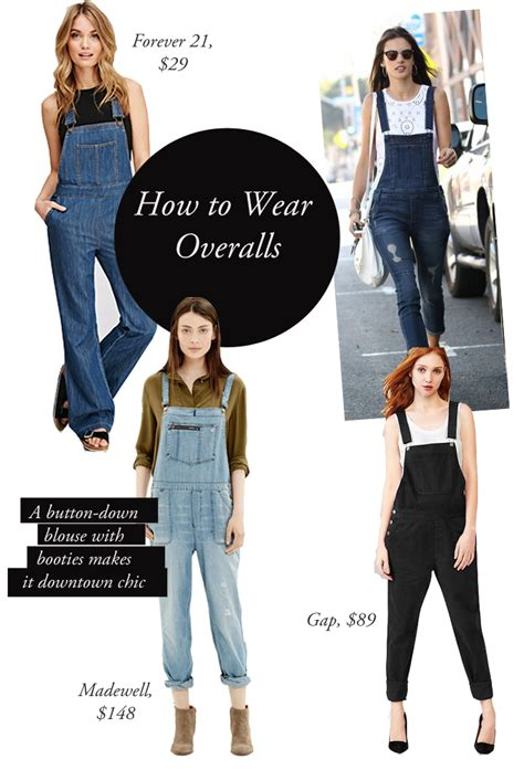 8 Tips On How To Wear The Make Up Trend by How To Wear Overalls Without Looking Like A 90 S Kid