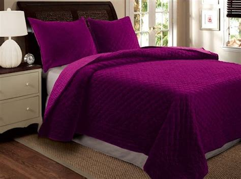 purple velvet comforter set luxury purple velvet bedspread lee s board pinterest