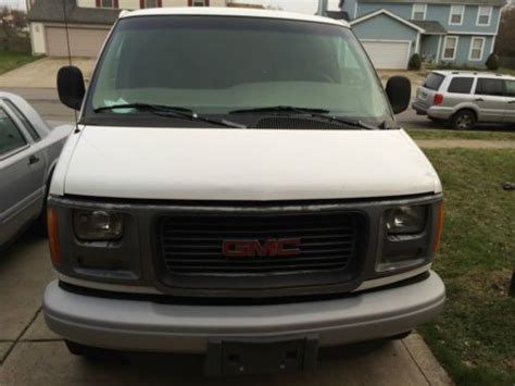 purchase used 2001 gmc savana no reserve in orange california united states purchase used 1999 gmc savana 3500 extended cargo van 5 7l no reserve only 92k miles in