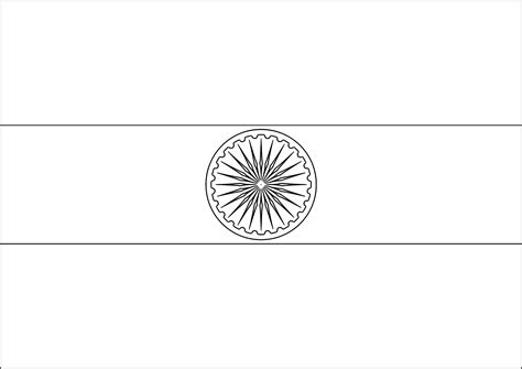 Indian Flag Coloring Page india flag coloring page az coloring pages