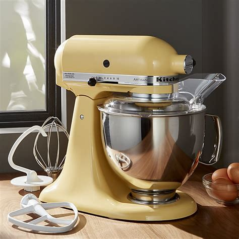 KitchenAid ® Artisan Majestic Yellow Stand Mixer   Crate