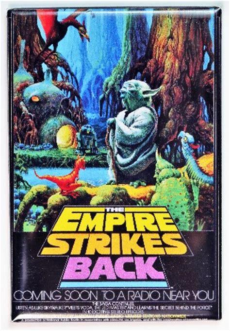 star wars  empire strikes  npr poster fridge magnet