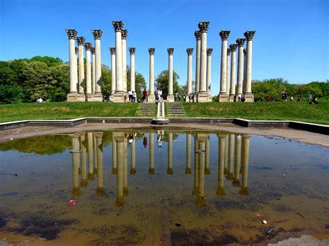 travel photography capitol columns washington dc