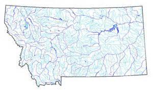 Montana Rivers Map by Fly Fishing Blog Photos Podcasts Travel Gear