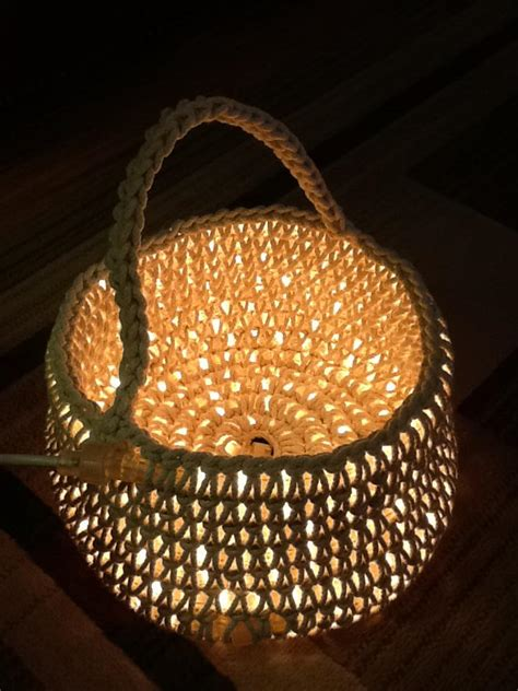 lighted crochet rug crochet plus led rope light equals one cool rug